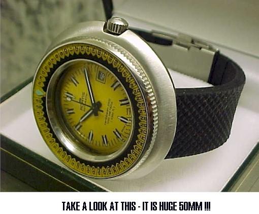 L'equipe Cousteau et ses montres : suite du feuilleton Ory1